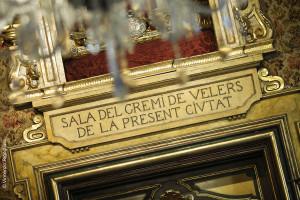 Detalle Sala del Gremio de los Veleros