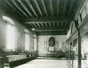 Salón principal de La Casa de la Seda.