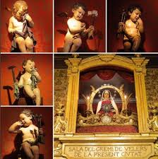 Pas de Setmana Santa tallat pel popular escultor Ramón Amadeu.