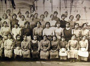 Trabajadoras del textil, fondo MNATEC