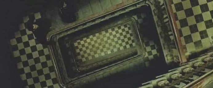 Patró d'escacs en l'escala de Matrix