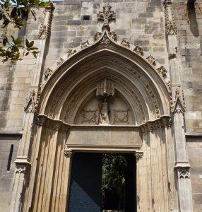 Santa Eulalia presente en Barcelona