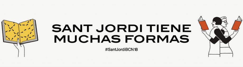 Lema de la Diada de Sant Jordi en Barcelona 2018