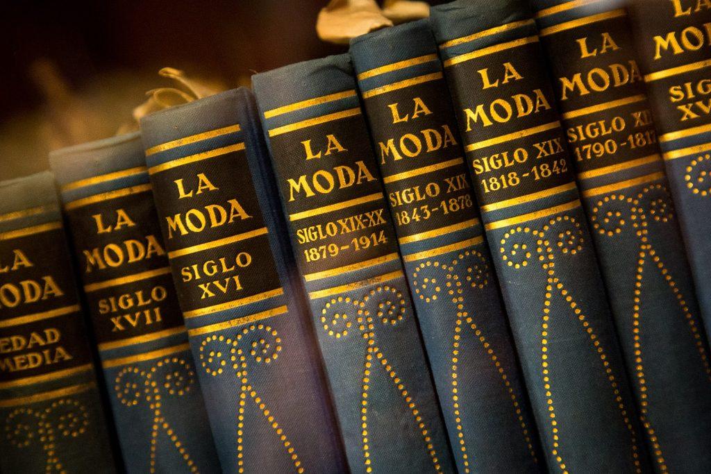 Libros de moda en La Casa de la Seda