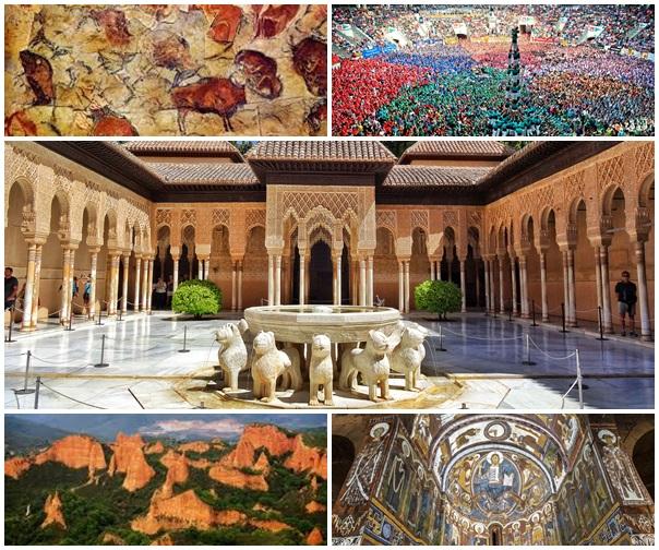 Bienes de España inscritos en las listas de Patrimonio Mundial de la UNESCO