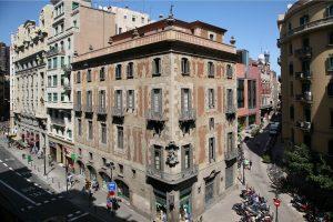 Esterior de la Casa de la Seda Barcelona