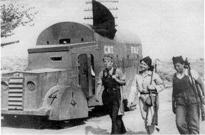 Columna Durruti blog la casa de la seda