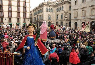 Festes de Santa Eulàlia a Barcelona. La Laia. Cedides Institut de Cultura de Barcelona