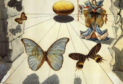 Allegorie de soie. Dalí