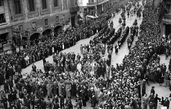 Enterrament Durruti blog la casa de la seda